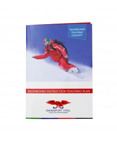 Snowboard instruction teaching plan im Taschenformat