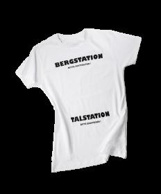 """T-Shirt """"BERGSTATION - TALSTATION"""""""